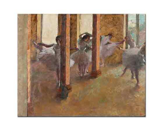 Edgar Degas Fuayede Balerinler