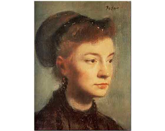 Edgar Degas Genç Kadın