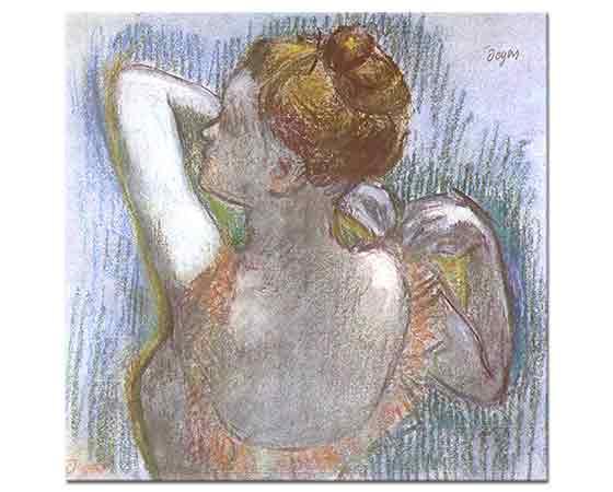 Edgar Degas Hazırlanan Balerin