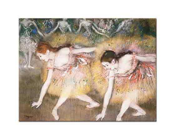 Edgar Degas iki Balerin