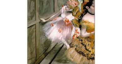 Edgar Degas Kuliste Balerinler