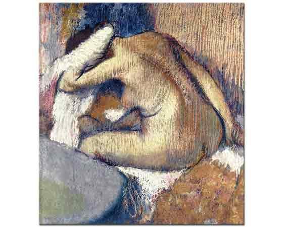 Edgar Degas Kurulanan Kadın