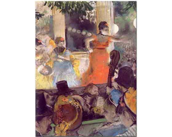 Edgar Degas Les Ambassadeurs'da Konser