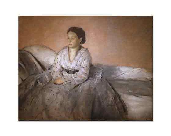 Edgar Degas Madame Rene de Gas'ın Portresi