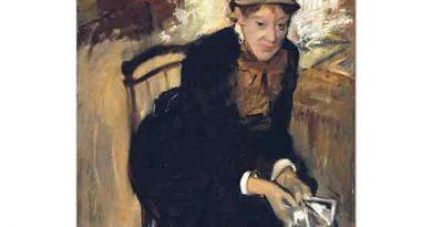 Edgar Degas Mary Cassatt Portresi