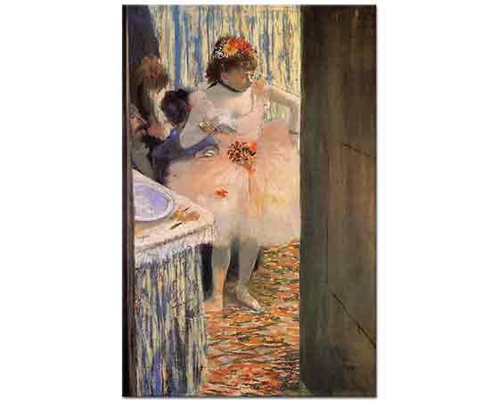 Edgar Degas Odasında Balerin