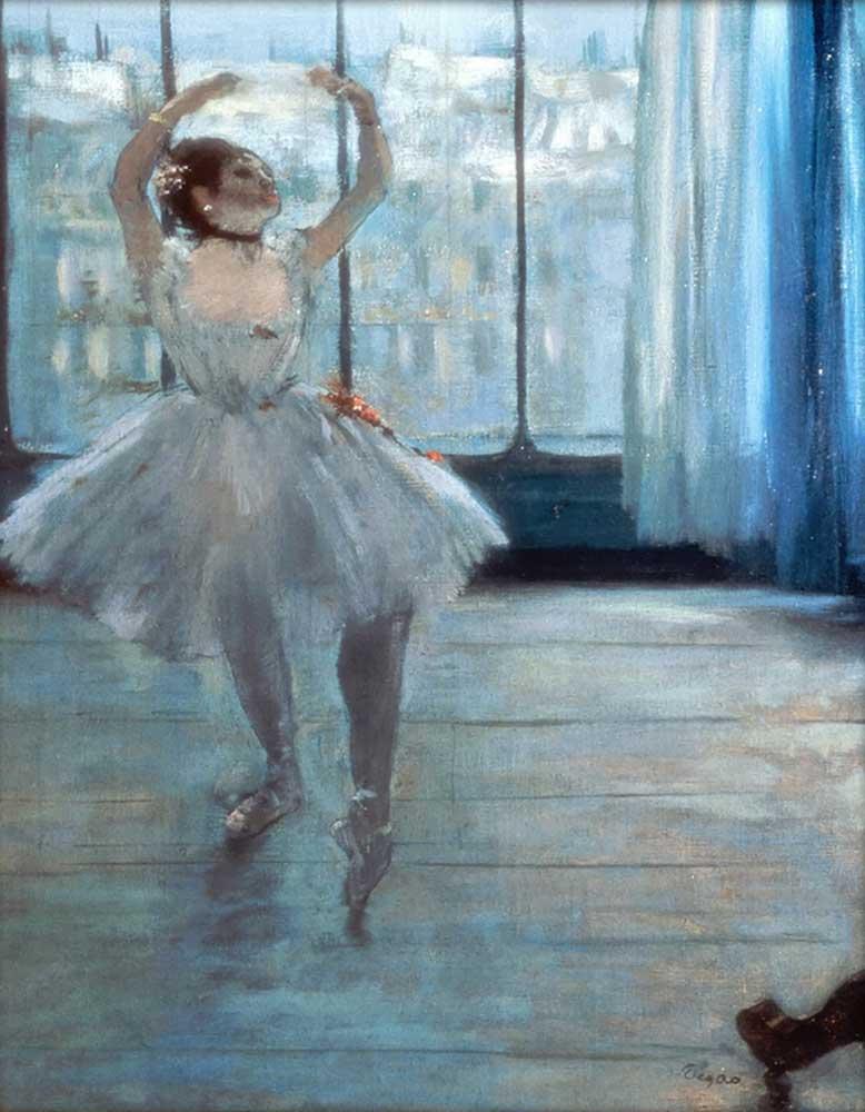 Edgar Degas Pencere Önünde Balerin