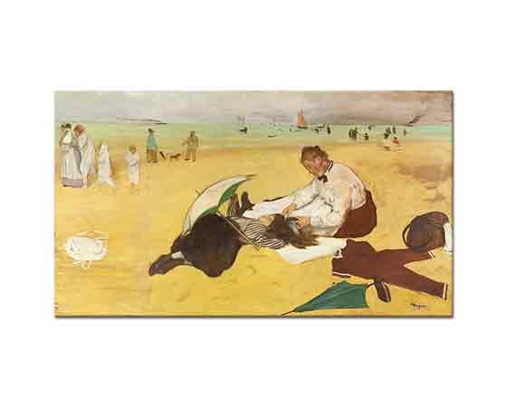 Edgar Degas Plaj Manzarası