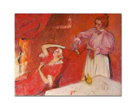 Edgar Degas Saçlarını Taratan Kadın