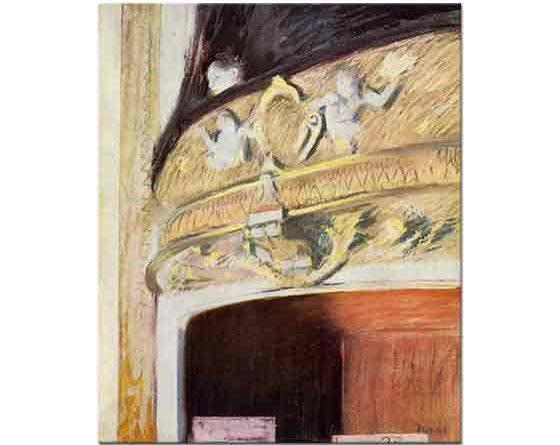 Edgar Degas Tiyatro Locası