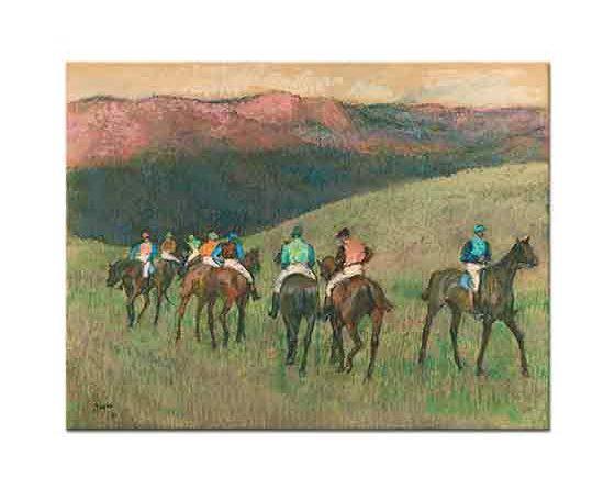 Edgar Degas Yarış Atları
