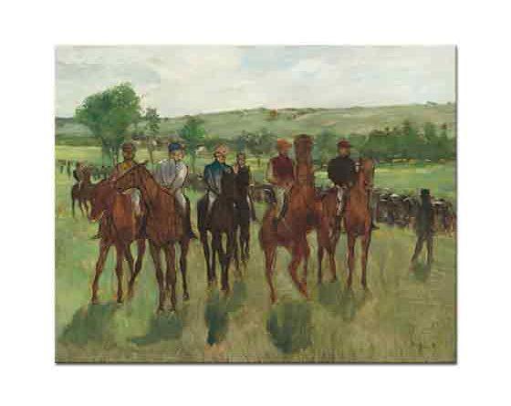 Edgar Degas Yarışçılar Startta