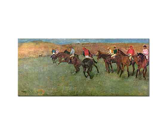 Edgar Degas Yarışçıların Start Hazırlığı