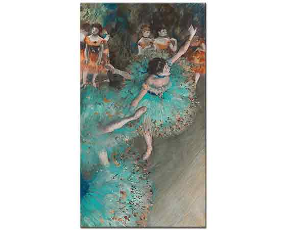 Edgar Degas Yeşil Dansçılar