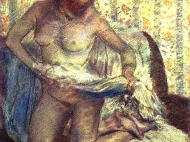 Edgar Degas Dizüstünde Kadın
