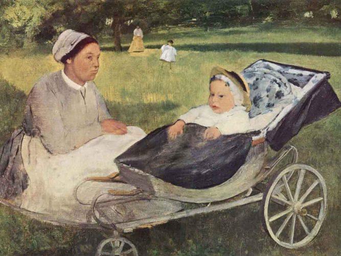 Edgar Degas Henri Valpinçon ve Bebeği