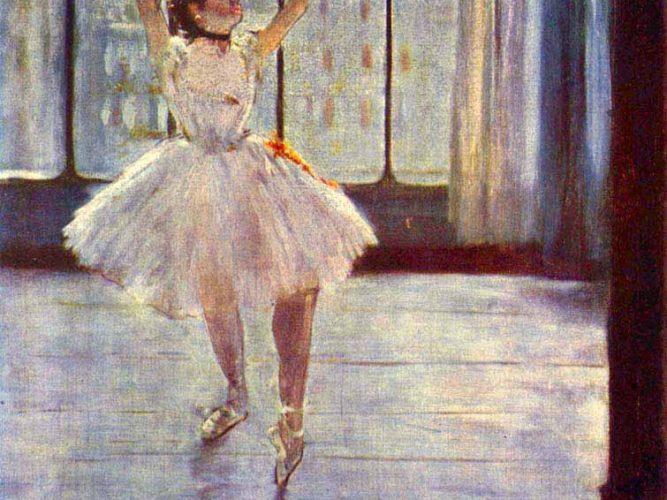 Edgar Degas Fotoğraf Stüdyosunda Balerin