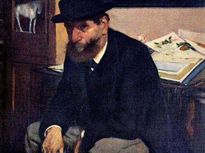 Edgar Degas Amatör tablosu