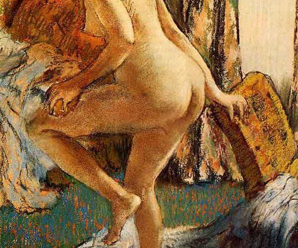 Edgar Degas Banyo Sonrası tablosu