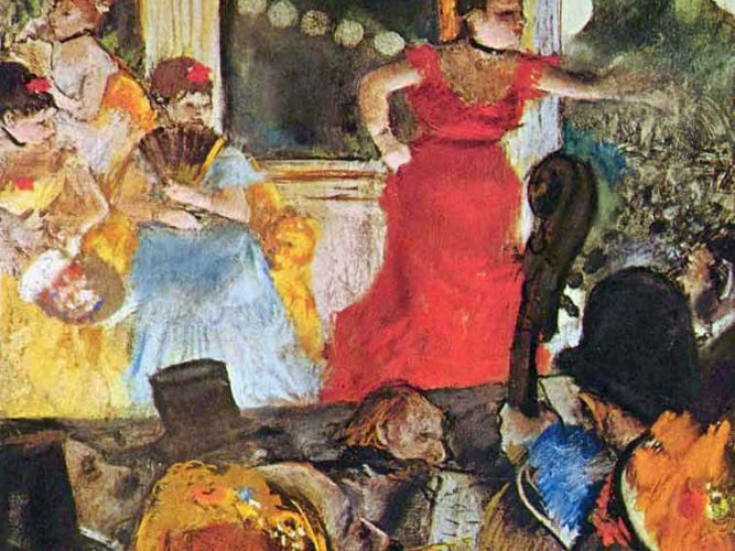 Edgar Degas Büyükelçi için Konser