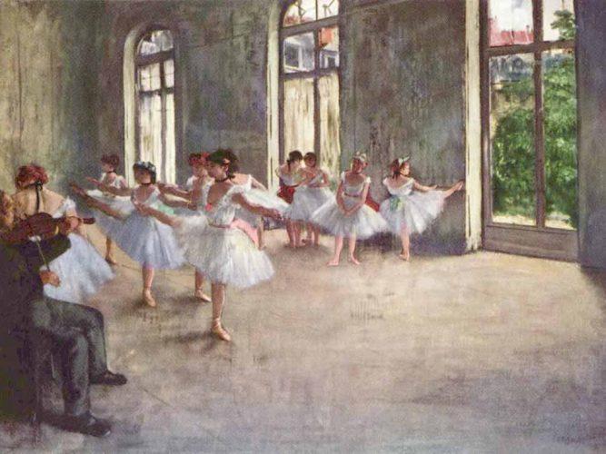 Edgar Degas Balerinlerin Provası