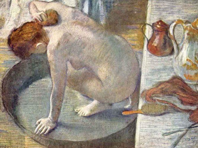 Edgar Degas Banyo tablosu