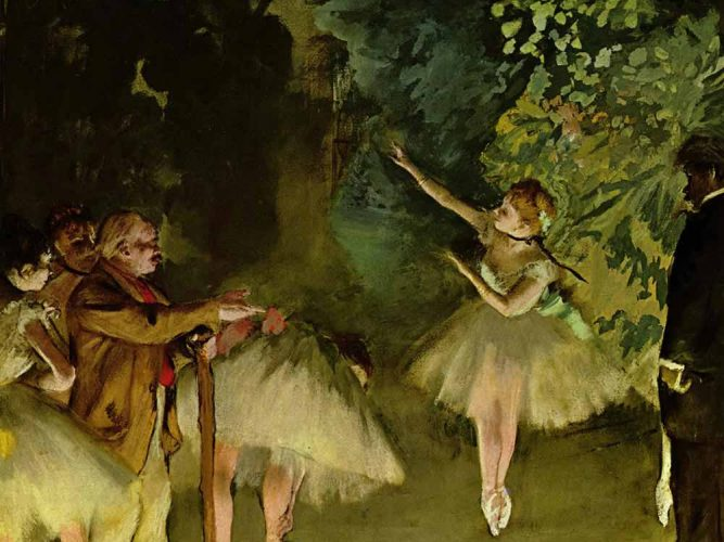 Edgar Degas Prova tablosu