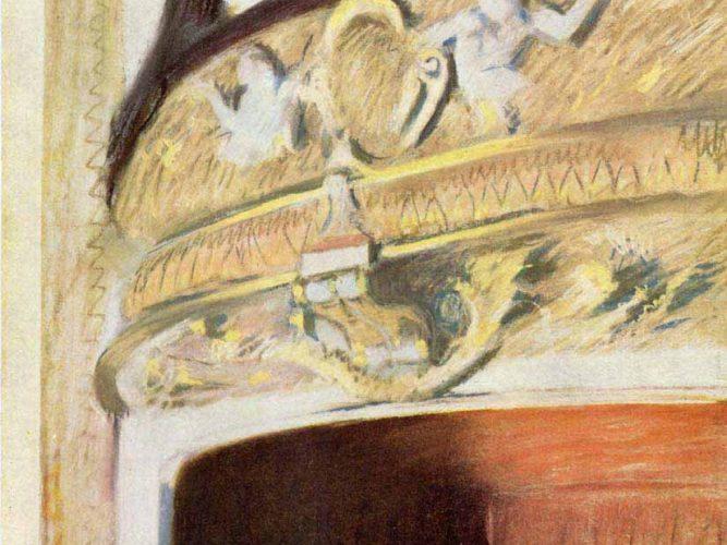 Edgar Degas Tiyatro Logosu tablosu