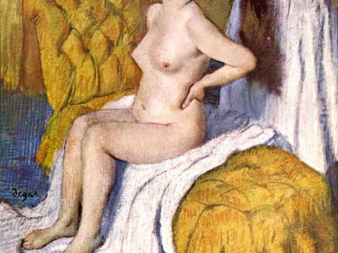 Edgar Degas Vücut Bakımı tablosu