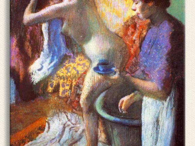 Edgar Degas Banyo Sonrasında
