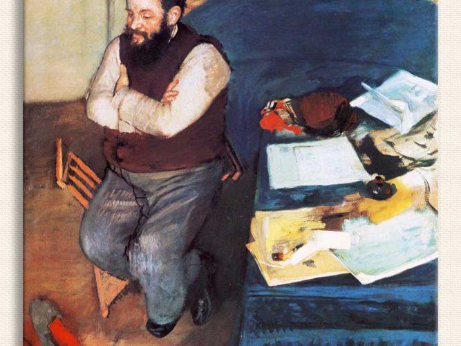 Edgar Degas Diego Martelli tablosu