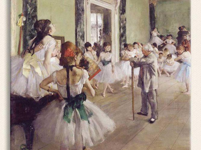 Edgar Degas Bale Sınıfı tablosu