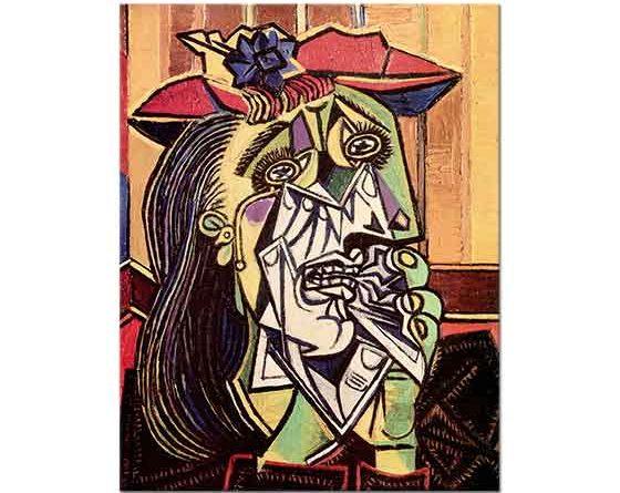 Pablo Picasso Ağlayan Kadın