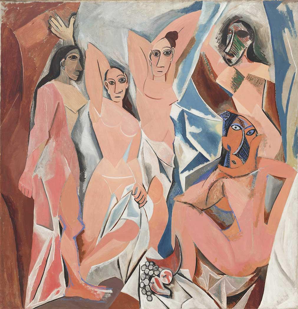 Pablo Picasso Avignon'lu Kadınlar