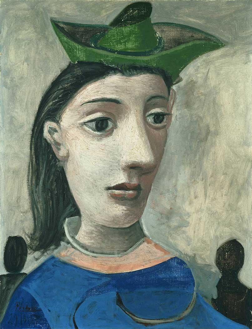 Pablo Picasso Bir Kadın