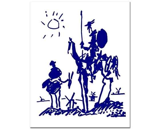 Pablo Picasso Don Kişot