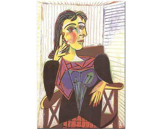 Pablo Picasso Dora Maar'ın Portresi