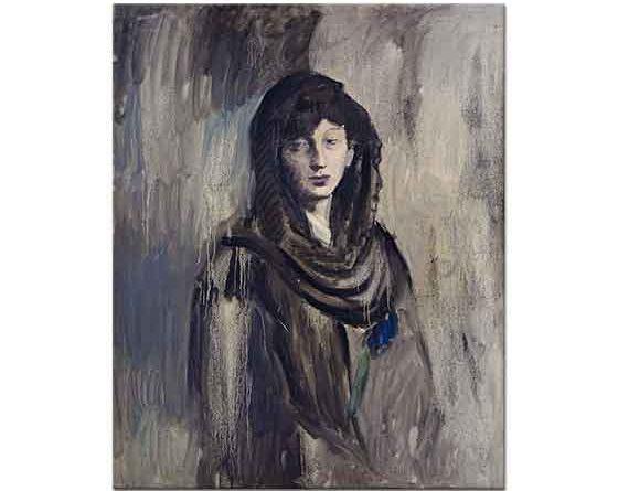 Pablo Picasso Genç Kadın Portresi