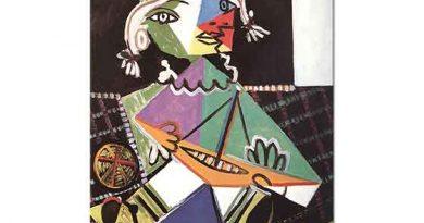 Pablo Picasso Küçük Kız Gemisi ile