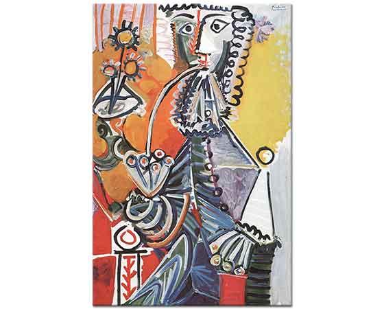 Pablo Picasso Piposu ile Şövalye