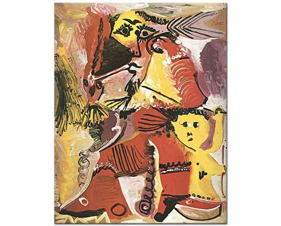 Pablo Picasso Rembrandt Figürü ve Eros