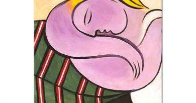 Pablo Picasso Sarı Saçlı Kadın