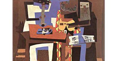 Pablo Picasso Üç Müzisyen
