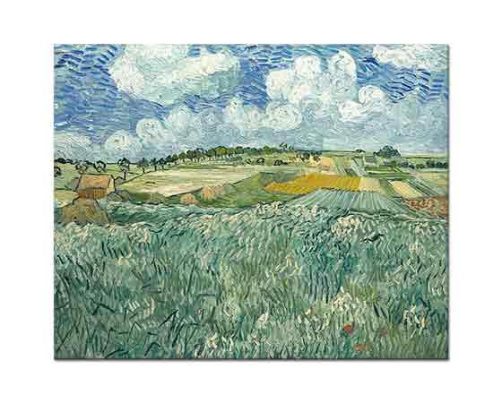 Vincent Willem van Gogh Auvers'te Çayırlık