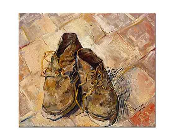 Vincent van Gogh Ayakkabı Çifti