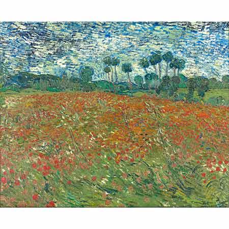 Vincent van Gogh Gelincik Tarlası