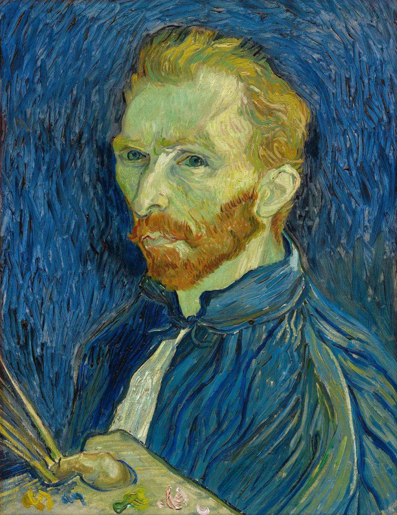 Vincent van Gogh Kendi Portresi II