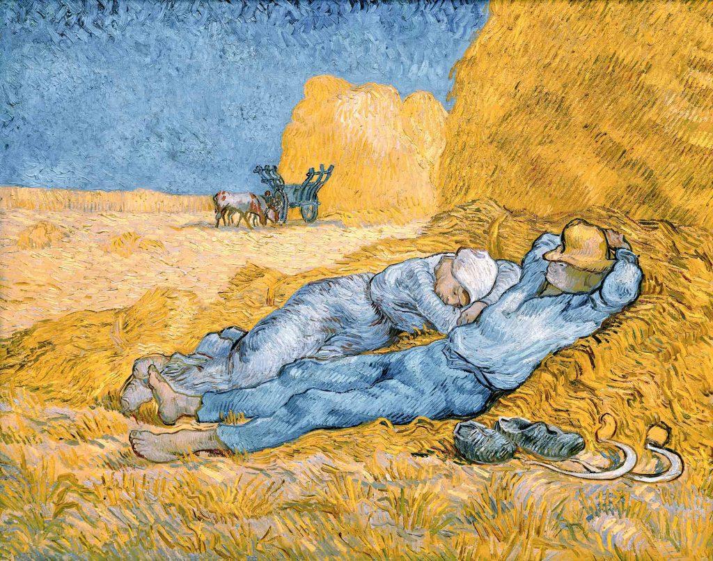 Vincent Willem van Gogh Öğlen Molası