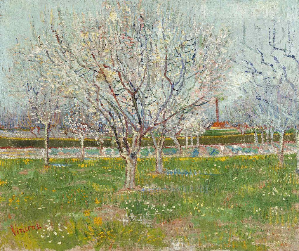 Vincent van Gogh Pembe Meyve Bahçesi