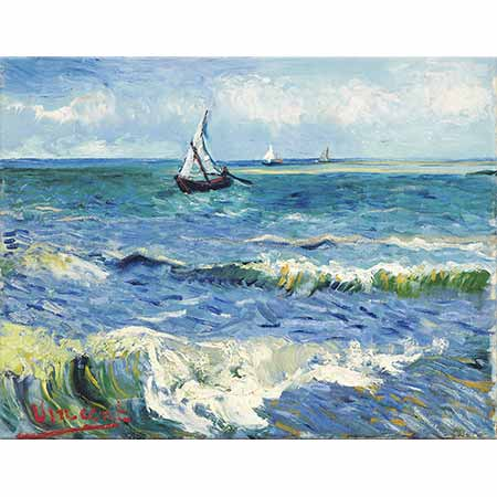 Vincent van Gogh Saintes Maries'de Deniz